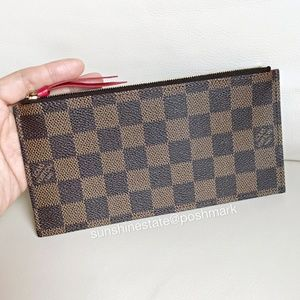 Authentic Louis Vuitton Felicie insert Ebene New!